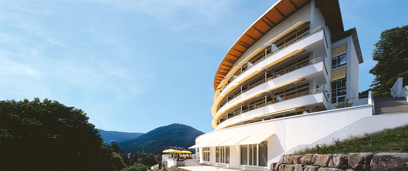 Hotel Schwarzwald Panorama Zimmer Außenansicht