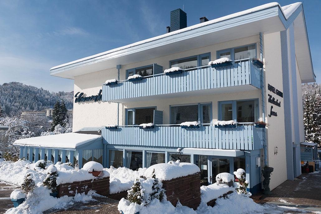 Hotel-Sonnenhof im Winter