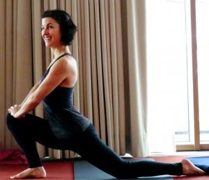 Yoga-Lehrerin Kerstin Weinbrecht