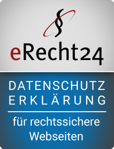 erRecht24 Siegel Datenschutzerklärung