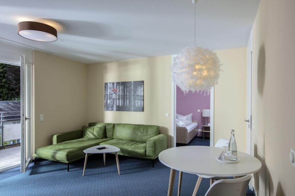 2-Zimmer-Appartment (Wohnraum)