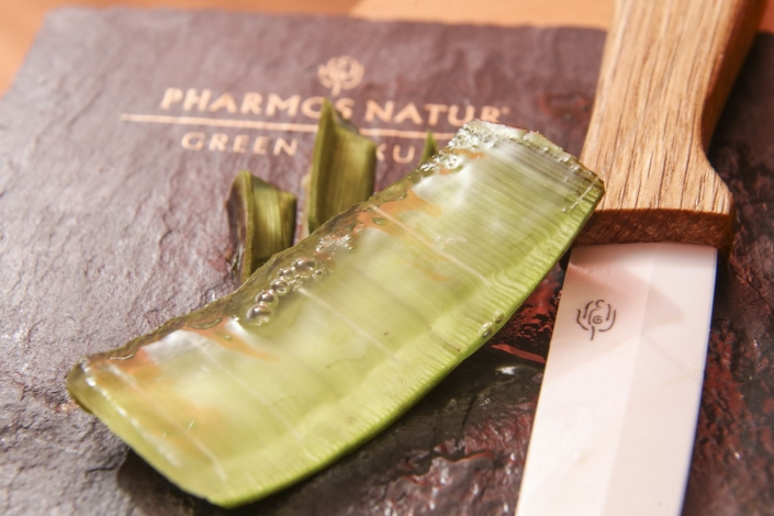 Anwendung mit Pharmos Natur