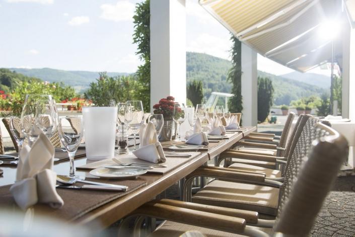 Schwarzwald Panorama Restaurant Terrasse